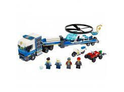 LEGO City Перевозка полицейского вертолета (60244)