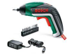 Аккумуляторный шуруповерт литиевый Bosch IXO V Basic