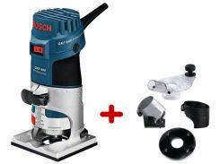 Фрезер кромочный Bosch GKF 600 KIT