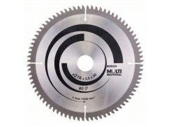 Диск пильный Bosch Multi Material 210 Z54, толщина 2.4/1.8
