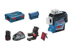 Лазерный нивелир Bosch GLL 3-80 C Professional + BM1 + 12V + L-Boxx (0601063R02)