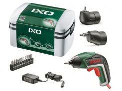 Аккумуляторный шуруповерт литиевый Bosch IXO V Full