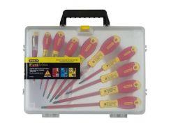 """Набор отверток электрика""""FatMax VDE 1000V"""" изолированных, 10 штук. Stanley 0-62-573"""