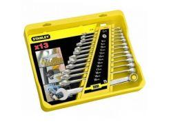 Набор ключей комбинированных, удлиненных, хромированных, 13 шт. Stanley 4-94-648