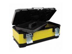 """Ящик 26"""", 662x293x222 мм, профессиональный, металлопластмассовый с металлическими замками Stanley 1-95-614"""