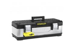 """Ящик 26"""", 662x293x222 мм, профессиональный, металлопластмассовый, гальванизированнный. Stanley 1-95-620"""