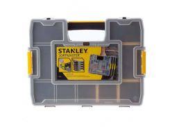 """Органайзер """"Sort Master Junior"""" пластмассовый, 375х65х292 мм, с переставными перегородками Stanley 1-97-483"""