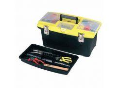 """Ящик """"Jumbo"""" 16"""", 394x254x178 мм, пластмассовый с 2-мя съемными органайзерами Stanley 1-92-905"""