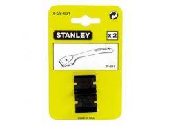 Лезвие запасное, для скребка 0-28-616, высокопрочное, двухсторонние , L=25мм. Stanley 0-28-631