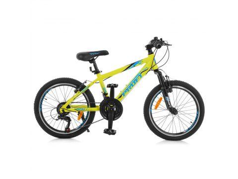 """Велосипед Profi 20"""" G20PLAIN A20.1 Lime (G20PLAIN A20.1) Сумы"""