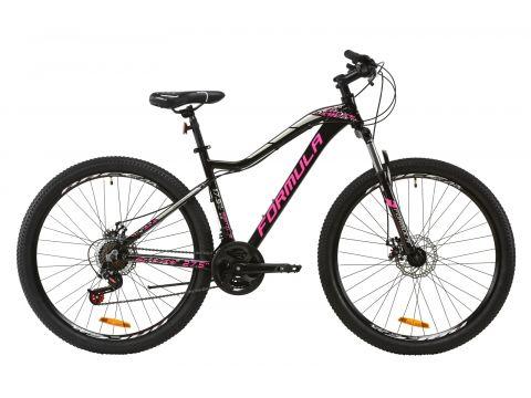 """Велосипед AL 27.5"""" Formula MYSTIQUE 2.0 AM DD рама-17,5"""" черно-малиновый с серебристым 2020 (OPS-FR-27.5-032) Сумы"""