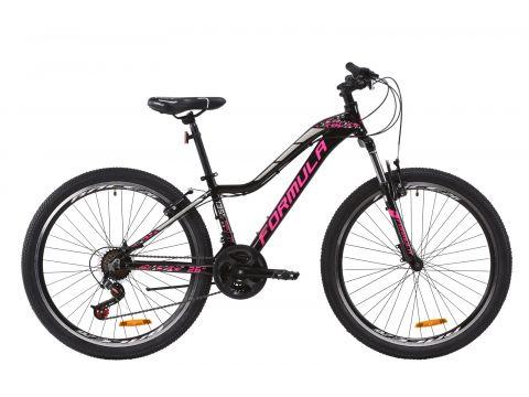 """Велосипед AL 26"""" Formula MYSTIQUE 2.0 AM Vbr рама-13,5"""" черно-малиновый с серебристым 2020 (OPS-FR-26-368) Сумы"""