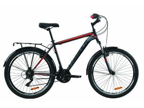 """Велосипед ST 26"""" Formula MAGNUM AM Vbr рама-19"""" черно-красный с серым (м) с багажником зад St, с крылом St 2020 (OPS-FR-26-417) Сумы"""