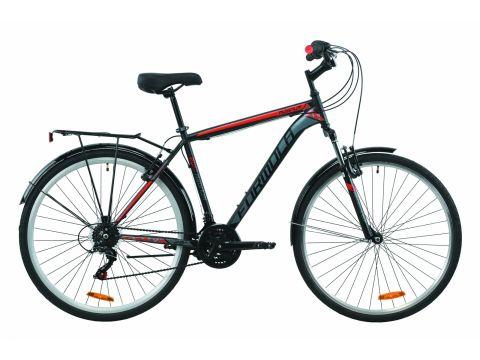 """Велосипед ST 28"""" Formula MAGNUM AM Vbr рама-20,5"""" черно-красный с серым (м) с багажником зад St, с крылом St 2020 (OPS-FR-28-018) Сумы"""