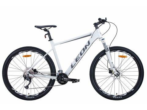 "Велосипед AL 27.5"" Leon XC-70 AM Hydraulic lock out HDD рама-18"" бело-серый с черным 2020 (OPS-LN-27.5-069) Сумы"