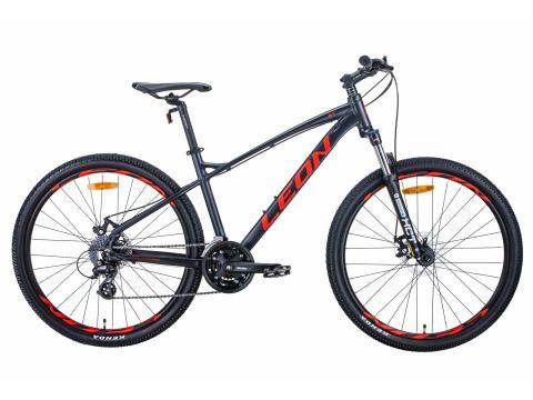 """Велосипед 27.5"""" Leon XC-90 2020 (графитовый с красным (м)) Сумы"""