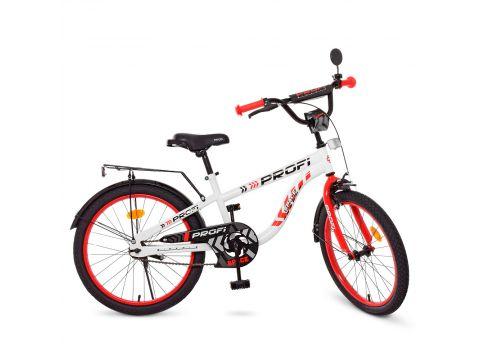 Детский велосипед PROF1 20д. T20154 Space салатовый