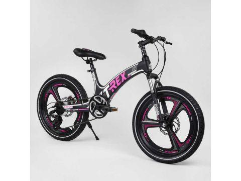 Детский спортивный велосипед 20'' CORSO «T-REX» 13108 (1) магниевая рама, 7 скоростей, собран на 75