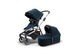 Детская коляска с люлькой Thule Sleek (Navy Blue) (TH 11000010)