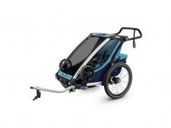 Детская коляска Thule Chariot Cross 1 (Blue-Poseidon) (TH 10202001)