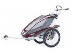 Детская коляска Thule Chariot CX 1 (Burgundy) (TH 10101322)