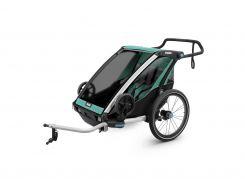 Детская коляска Thule Chariot Lite 2 (Blue Grass-Black) (TH 10203002)