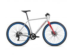 Велосипед Orbea CARPE 40 2019 White - Red (J42053QP)