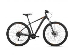 Велосипед Orbea MX 29 40 2019 Black - Orange (J20821R1)