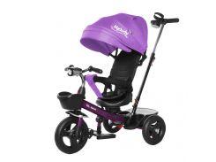 Велосипед трехколесный Tilly Melody T-385 фиолетовый