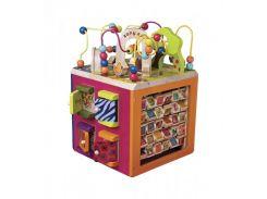 Развивающая деревянная игрушка - ЗОО-КУБ (размер 34х30х45 см) (BX1004X)
