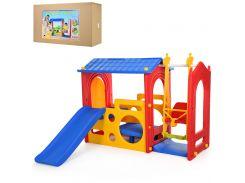 Горка с качелями Bambi Super Playhouse with swing (M 5404-3-4-6)