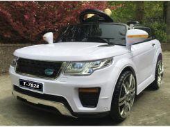 Детский электромобиль Tilly HJ-5555 (T-7828) EVA WHITE джип на Bluetooth 2.4G Р/У 2*6V4.5AH мотор 1*25W с MP3 92*59*45