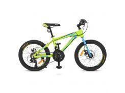 "Велосипед Profi 20"" G20HARDY A20.1 Lime Green (G20HARDY A20.1)"