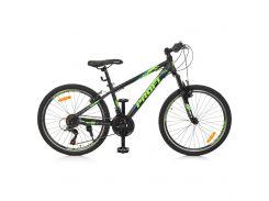 """Велосипед Profi 24"""" G24PLAIN A24.3 Black (G24PLAIN A24.3)"""