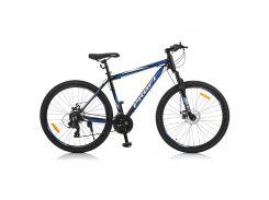 "Велосипед Profi 27,5"" G275GRAPHITE A275.1 Black-Blue (G275GRAPHITE A275.1)"
