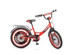 Детский велосипед PROF1 20д. Y2046 Original boy красно-черный