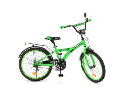 Детский велосипед PROF1 20д. T2036 Racer зеленый
