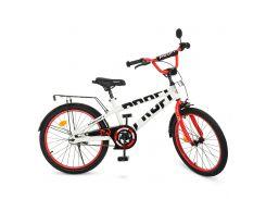 Велосипед детский PROF1 20д. T20172 фиолетово-розовый