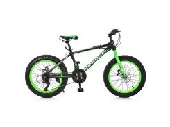 "Велосипед Profi 20"" EB20POWER 1.0 S20.2 Black-Lime Green (EB20POWER 1.0 S20.2)"