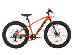 """Велосипед AL 26"""" Formula PALADIN DD рама-17"""" красно-черный с бирюзовым 2020 (OPS-FR-26-338)"""