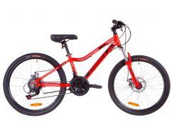"""Велосипед 24"""" Formula ACID 1.0 AM 14G DD рама-12,5"""" Al красно-черный с синим 2019 (OPS-FR-24-126)"""