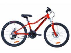 """Велосипед 24"""" Formula ACID 2.0 AM 14G DD рама-12,5"""" Al красно-черный с синим 2019 (OPS-FR-24-168)"""