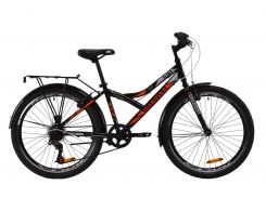 "Велосипед ST 24"" Discovery FLINT Vbr рама-14"" бело-зеленый с багажником зад St, с крылом St 2020 (OPS-DIS-24-174)"
