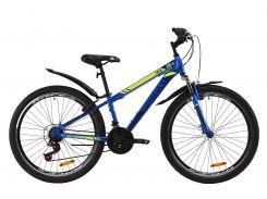 "Велосипед ST 26"" Discovery TREK AM Vbr рама-13"" синий с крылом Pl 2020 (OPS-DIS-26-262)"