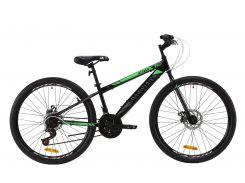 "Велосипед ST 26"" Discovery ATTACK DD рама-13"" черно-зеленый с серым 2020 (OPS-DIS-26-298)"