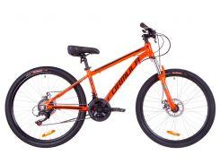 """Велосипед 26"""" Formula THOR 1.0 AM 14G DD рама-18"""" Al оранжево-черный с бирюзовым 2019 (OPS-FR-26-270)"""