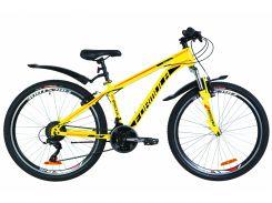 """Велосипед 26"""" Formula SPECIAL AM 14G Vbr рама-15"""" St желтый с крылом Pl 2019 (OPS-FR-26-302)"""