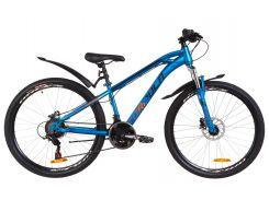 """Велосипед 26"""" Formula DAKAR AM 14G HDD рама-14"""" St черно-красный с желтым с крылом Pl 2019 (OPS-FR-26-289)"""