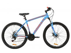 """Велосипед AL 27.5"""" Formula THOR 1.0 AM DD рама-19"""" сине-оранжевый 2020 (OPS-FR-27.5-043)"""