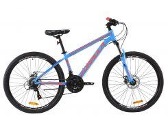 """Велосипед AL 26"""" Formula THOR 1.0 AM DD рама-14"""" сине-оранжевый 2020 (OPS-FR-26-342)"""